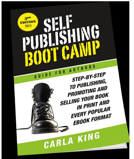 Carla King's Self-Publishing Boot Camp